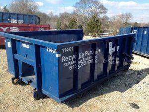 tornado cleanup dumpster rental